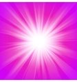 Pink and purple abstract magic light background vector image