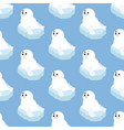 seal seamless pattern vector image