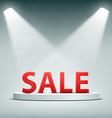 Word sale Stock vector image