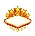 Winner emblem vector image vector image