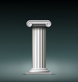 Antique white column vector image
