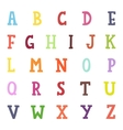 Alphabet cartoon vector image