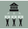 Bank2 vector image