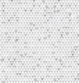 gray triangle seamless texture with paper effect vector image