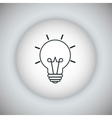 Light bulb icon Energy icon graphic vector image