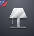 Lamp icon symbol 3D style Trendy modern design vector image