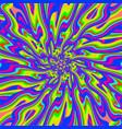 psychedelic infinity vector image