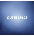square blurred background - space sky colors With vector image