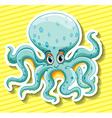 Octapus vector image