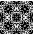Design seamless decorative flower pattern vector image