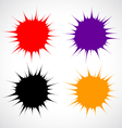 blots vector image