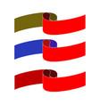 banner color set vector image