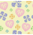 Colorful Hearts Symbol And Icon For Valentine Day vector image vector image