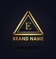 amazing alphabet logo designs vector image