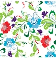 Seamless abstract floral pattern 1 vector image