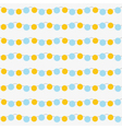 Seamless garlands pattern vector image