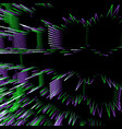 particles glitch abstract surface background vector image