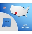 New Mexico vector image