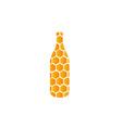 Jar of honey vector image