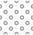 Pattern for coloring book Black and white vector image