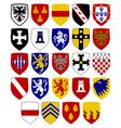 coats of hospitaller knights vector image