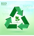 ecology bio infographics vector image