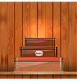 Tin Boxes Shelf vector image
