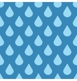 Elegant water drops seamless background vector image