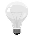 electric lamp with spiral vector image