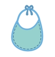 Bib icon Baby concept graphic vector image