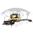 Snowcat vector image vector image