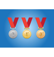gold cointh vector image