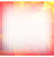 geometricl abstract background vector image