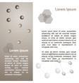 Brochure flyer template vector image
