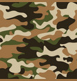 modern fashion trendy camo patternclassic vector image