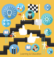 Student Success Learning Education Concept vector image