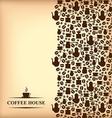 coffee vertical blur vector image