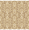 Gold pattern vector image