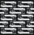 seamless texture pistols vector image