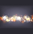 soft bokeh and lights background transparent vector image