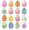 eggs set vector image
