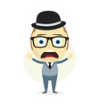 clueless businessman vector image
