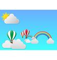 balloon journeyth vector image