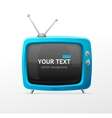 Tv blank vector image