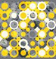 urban circle seamless pattern vector image