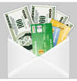 open the envelope vector image vector image