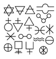 Symbols vector image