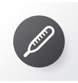 thermometer icon symbol premium quality isolated vector image