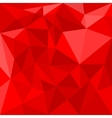 Red triangle background or seamless pattern vector image