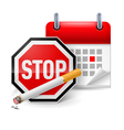No smoking day icon vector image
